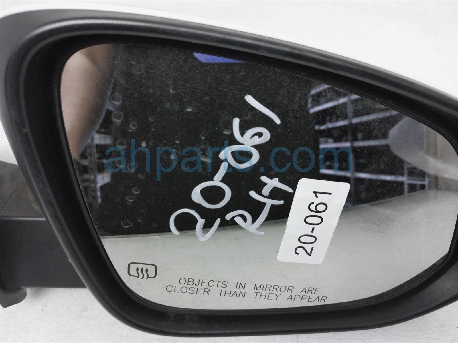 2014 Toyota Highlander Rear Passenger Side View Mirror   White 87910 0E143 Replacement