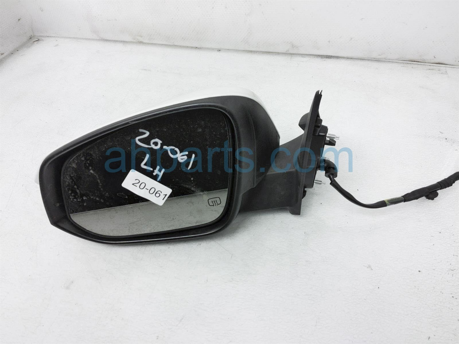 2014 Toyota Highlander Rear Driver Side View Mirror   White 87940 0E133 Replacement
