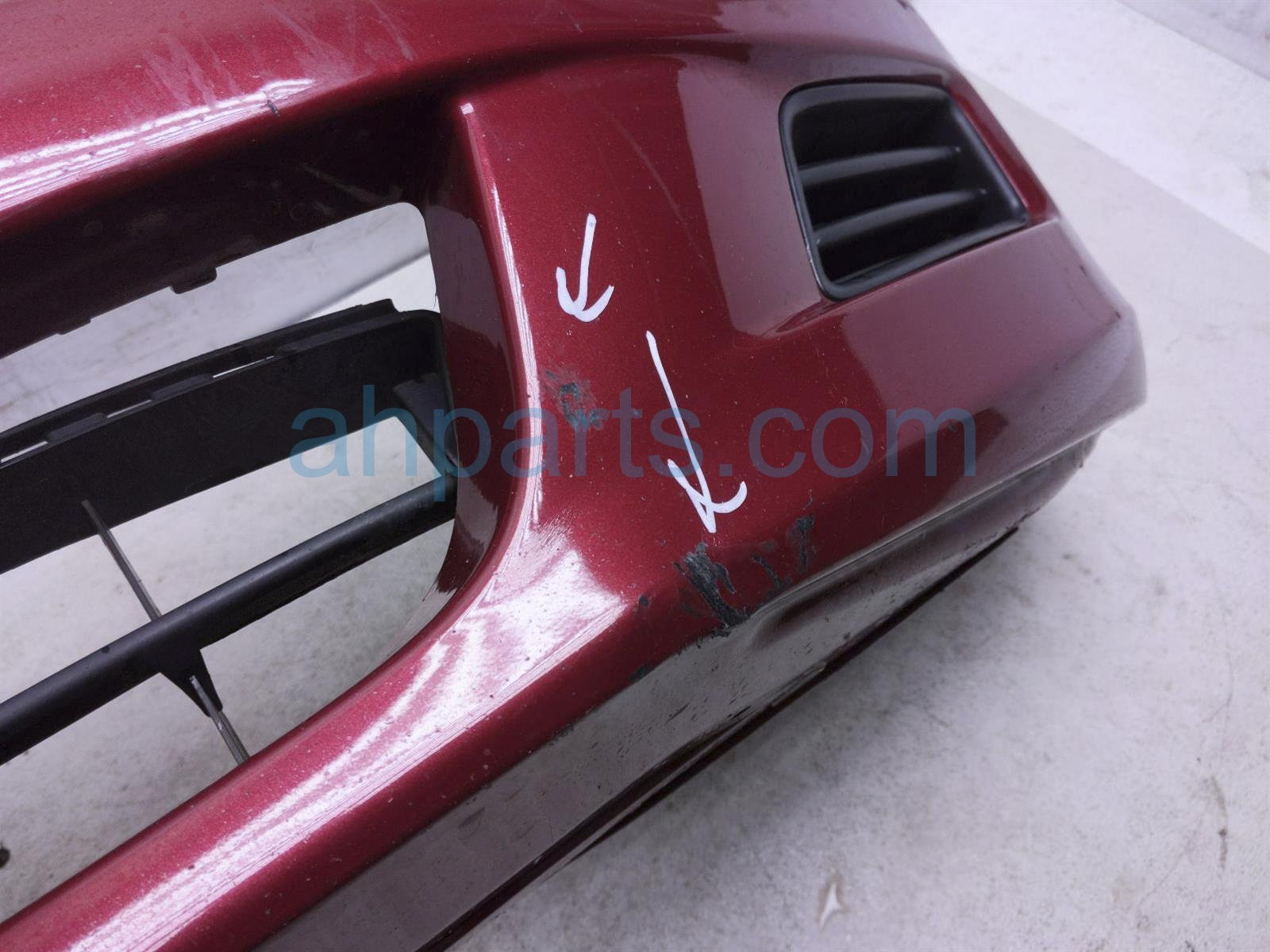 2007 Honda Accord Front Bumper Cover   Red    note 04711 SDL A90ZZ Replacement