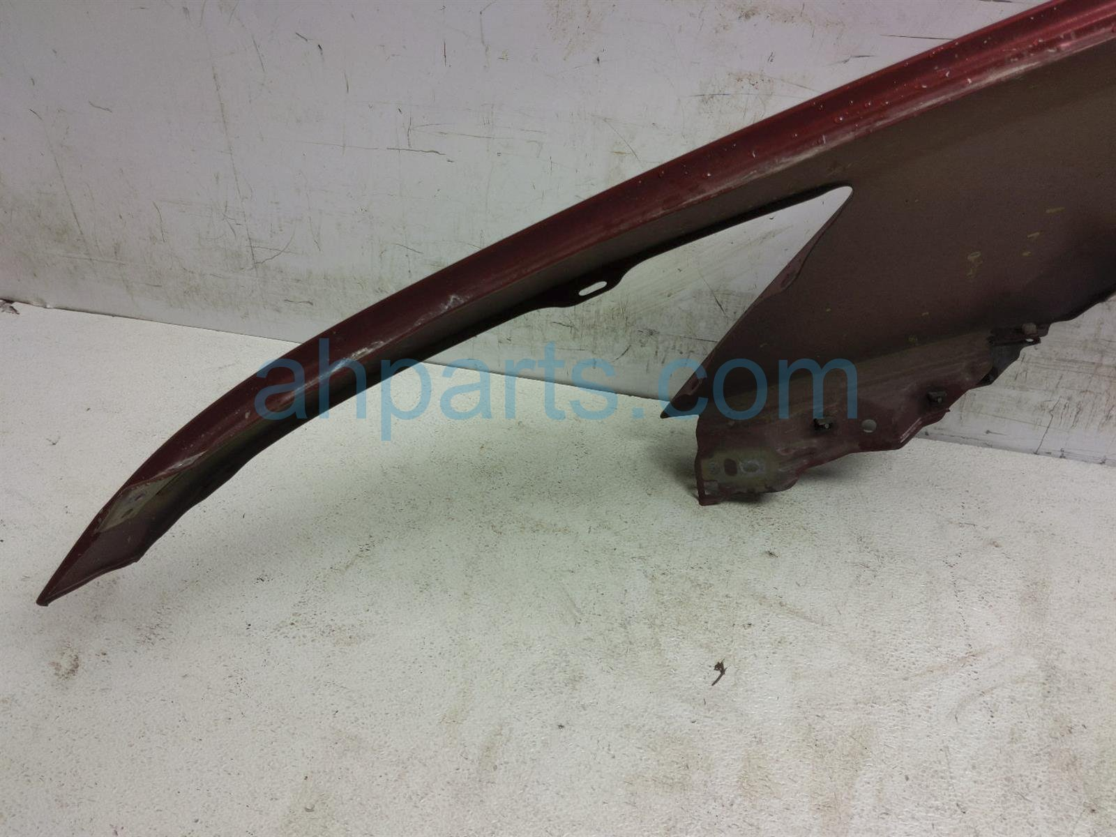 2007 Honda Accord Front Passenger Fender   Red   Scratches 04620 SDA A90ZZ Replacement