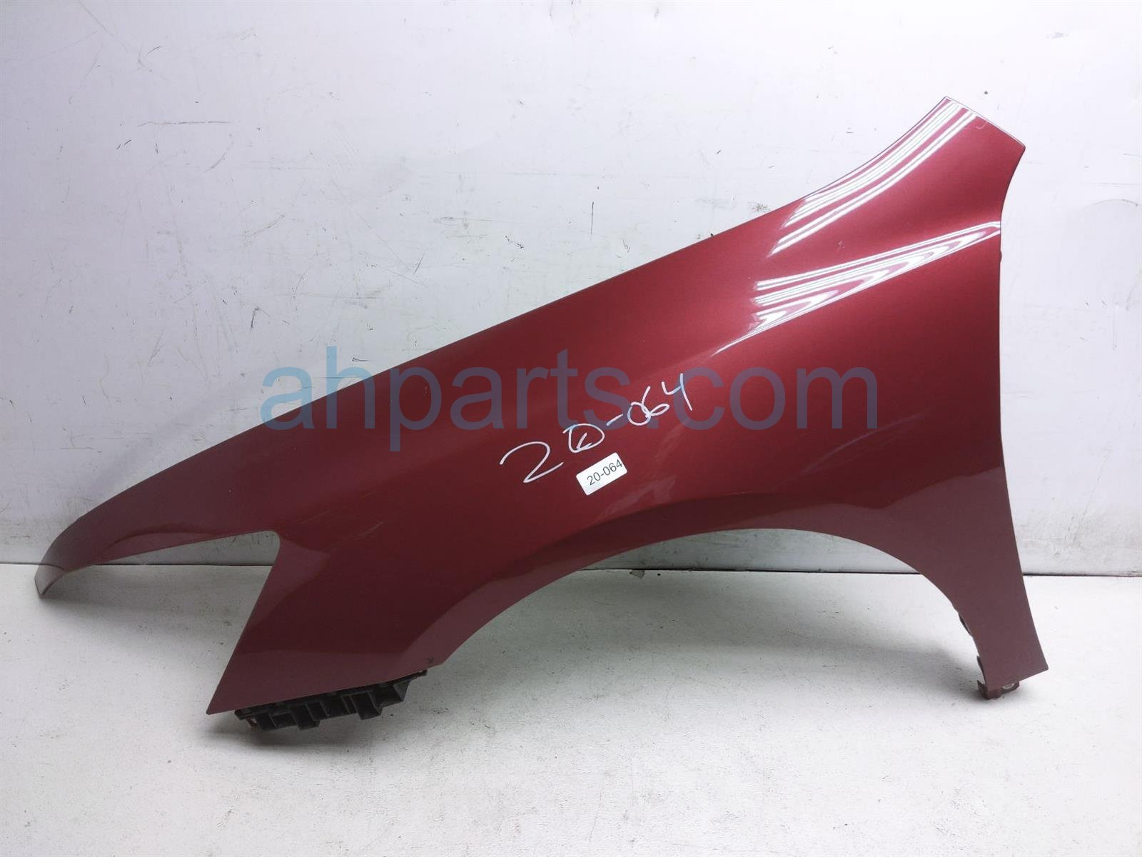 2007 Honda Accord Front Driver Fender   Red 04630 SDA A90ZZ Replacement