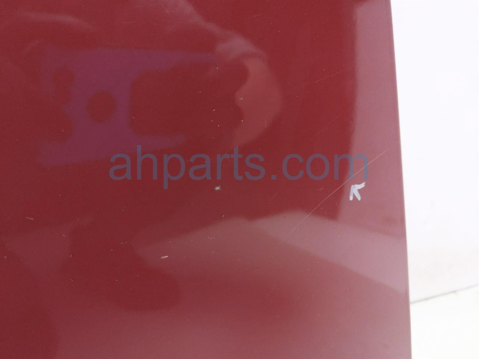 2007 Honda Accord Hood   Red   Aftermarket 60100 SDB A90 Replacement