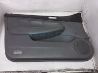 $69 Honda FR/LH INTERIOR DOOR PANEL - GREY 4DR