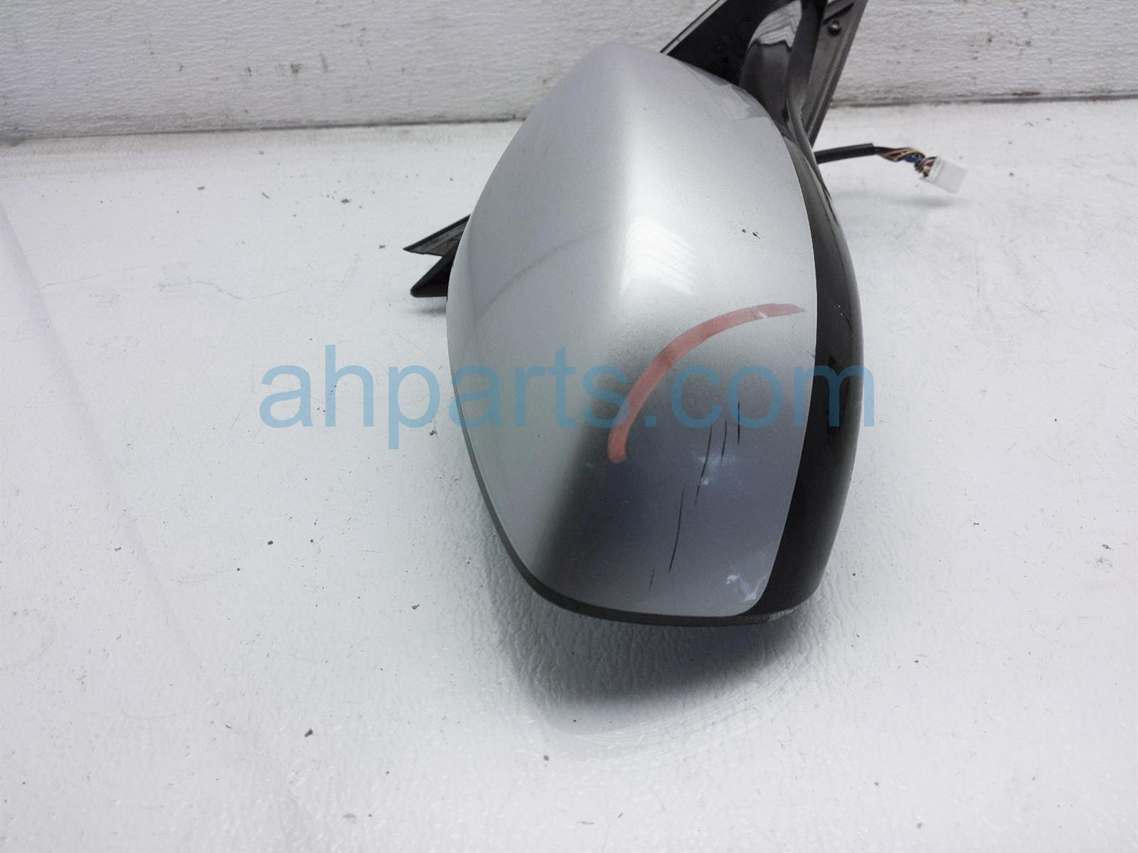 2011 Infiniti G37 Rear Passenger Side View Mirror   Silver 96301 1NC2A Replacement