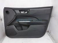 $175 Honda FR/RH INTERIOR DOOR PANEL - BLACK