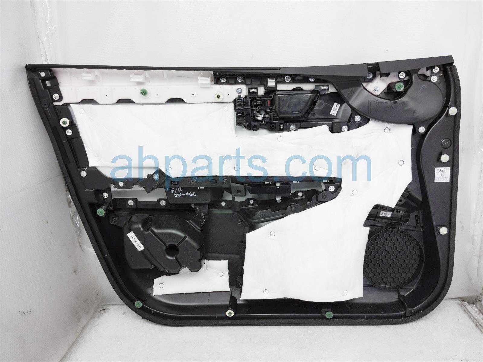 2018 Honda Clarity Trim / Liner Front Passenger Interior Door Panel   Black 83501 TRW A21ZB Replacement
