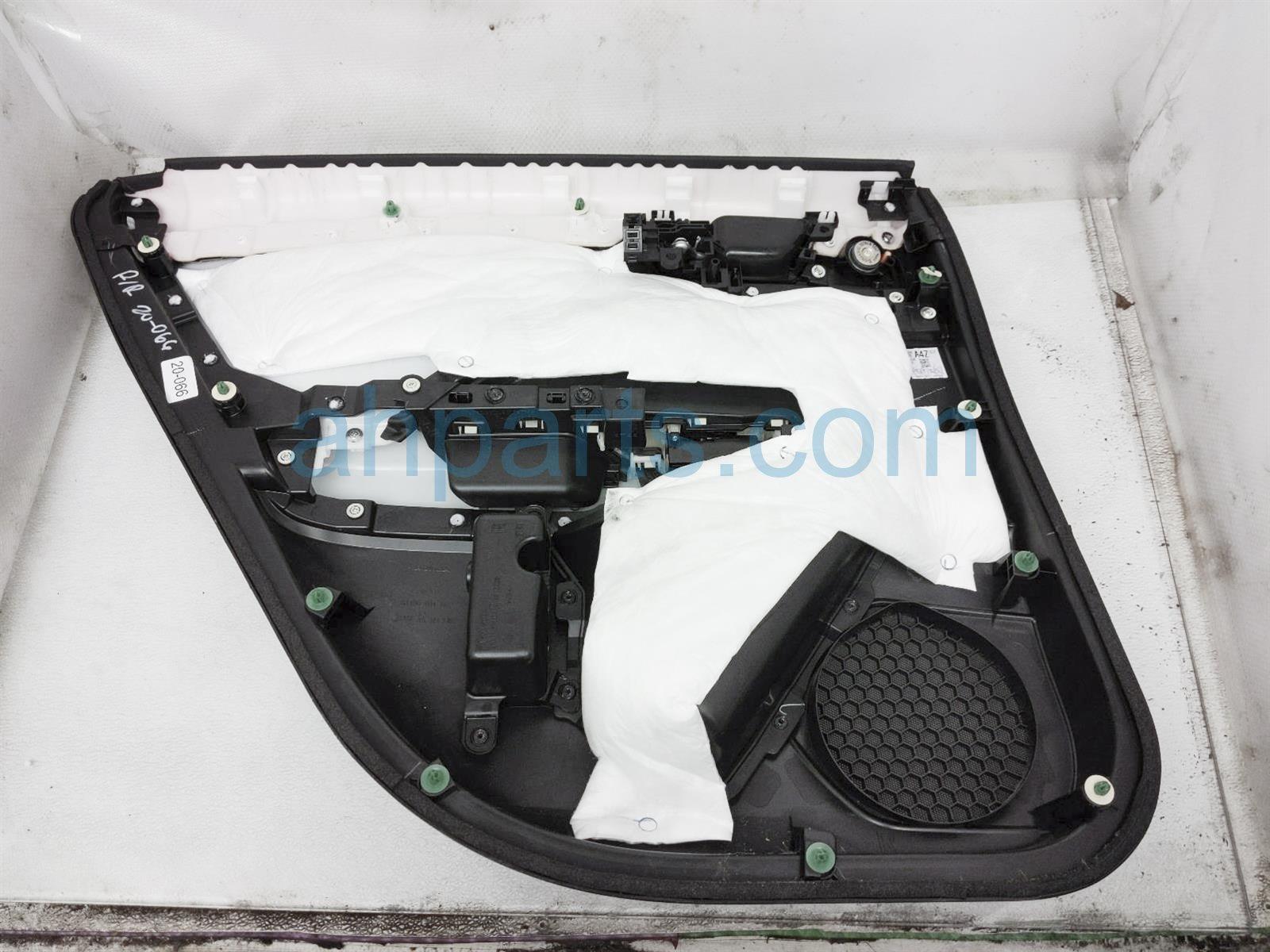 2018 Honda Clarity Trim / Liner Rear Passenger Interior Door Panel   Black 83701 TRW A21ZB Replacement