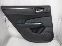 $190 Honda RR/LH INTERIOR DOOR PANEL - BLACK