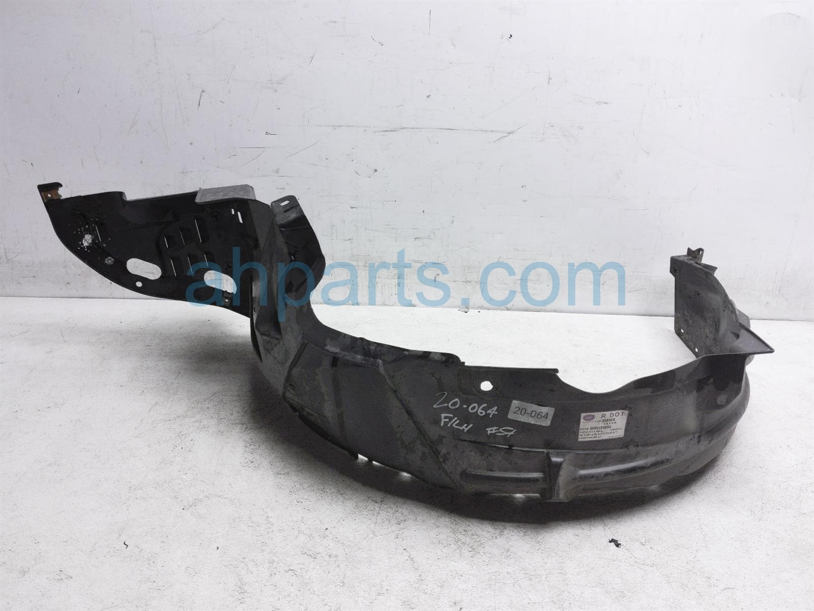 2007 Honda Accord Front Driver Inner Fender Liner 74151 SDA A00 Replacement