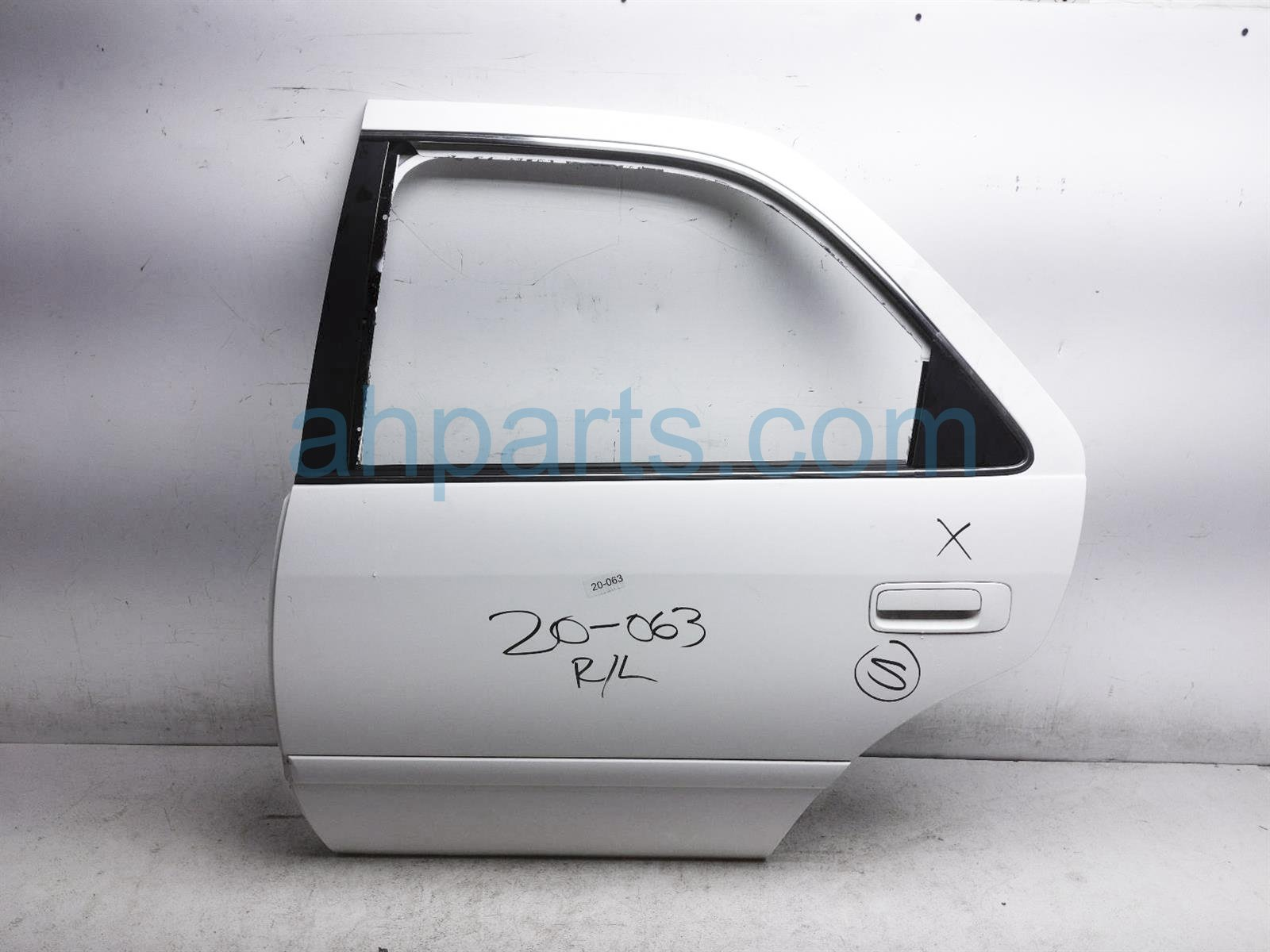 2001 Toyota Camry Rear Driver Door Shell   White 67004 AA020 Replacement