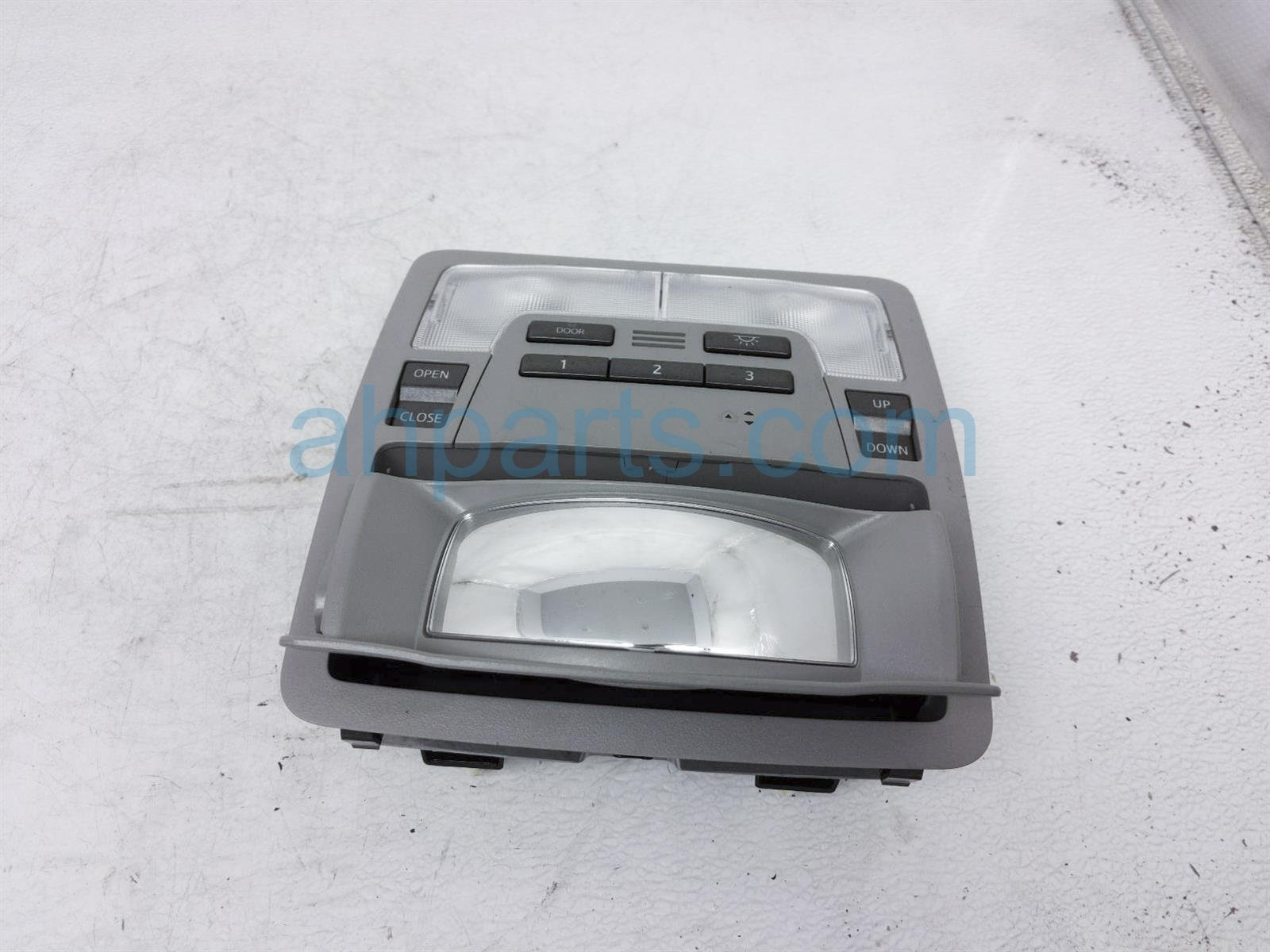 2014 Toyota Highlander Map Light / Overhead Console   Gray 63650 0E150 B0 Replacement