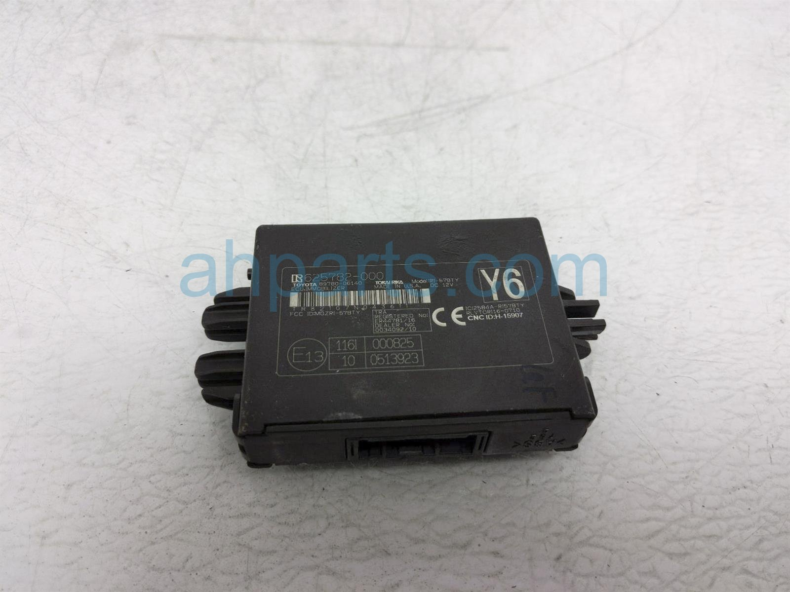 2018 Toyota Camry Key Transponder Computer Assy 89780 06140 Replacement
