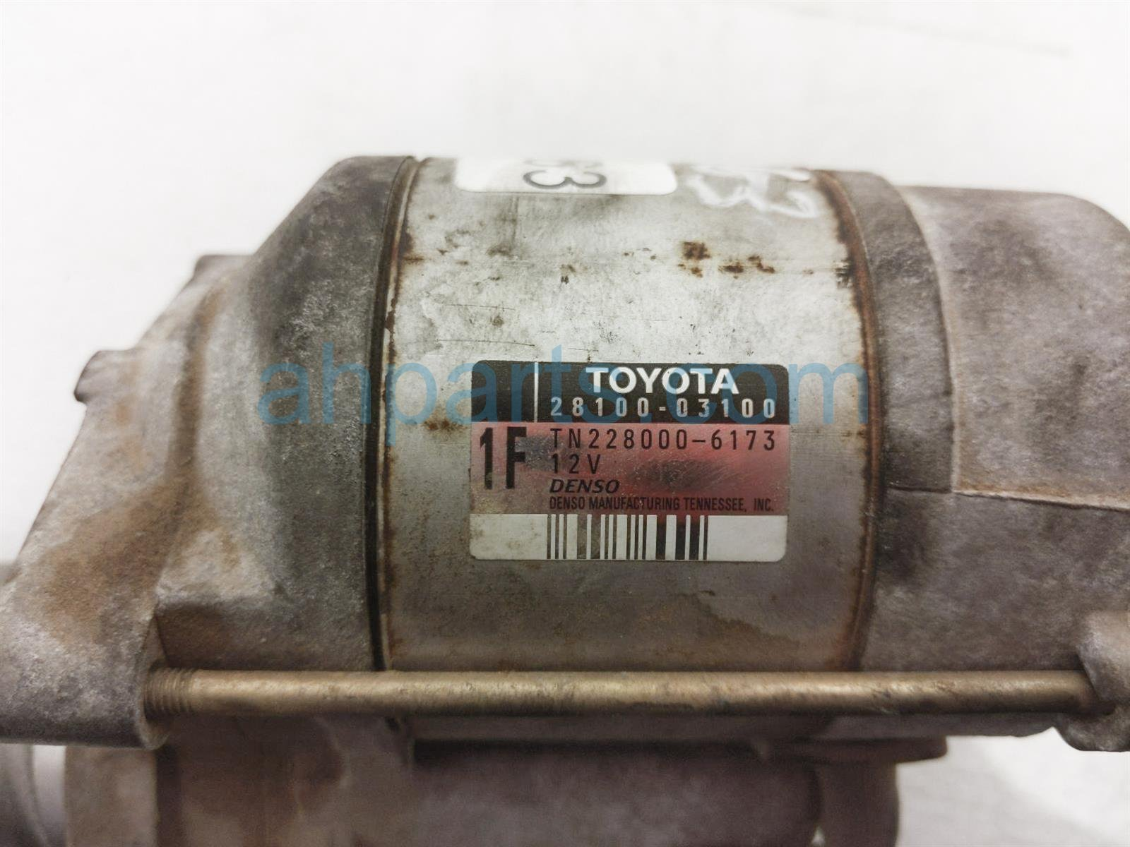 2001 Toyota Camry Starter Motor 28100 74260 84 Replacement
