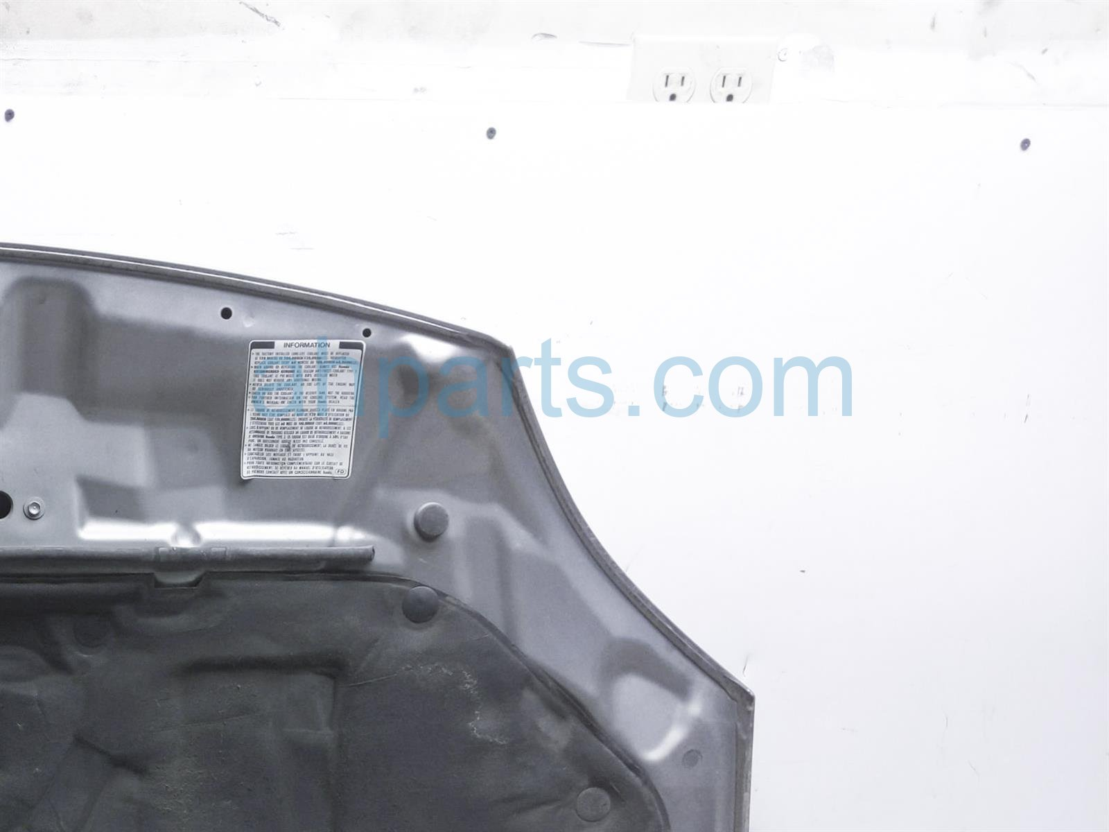 2003 Honda Insight Hood   Grey 60100 S3Y A90ZZ Replacement