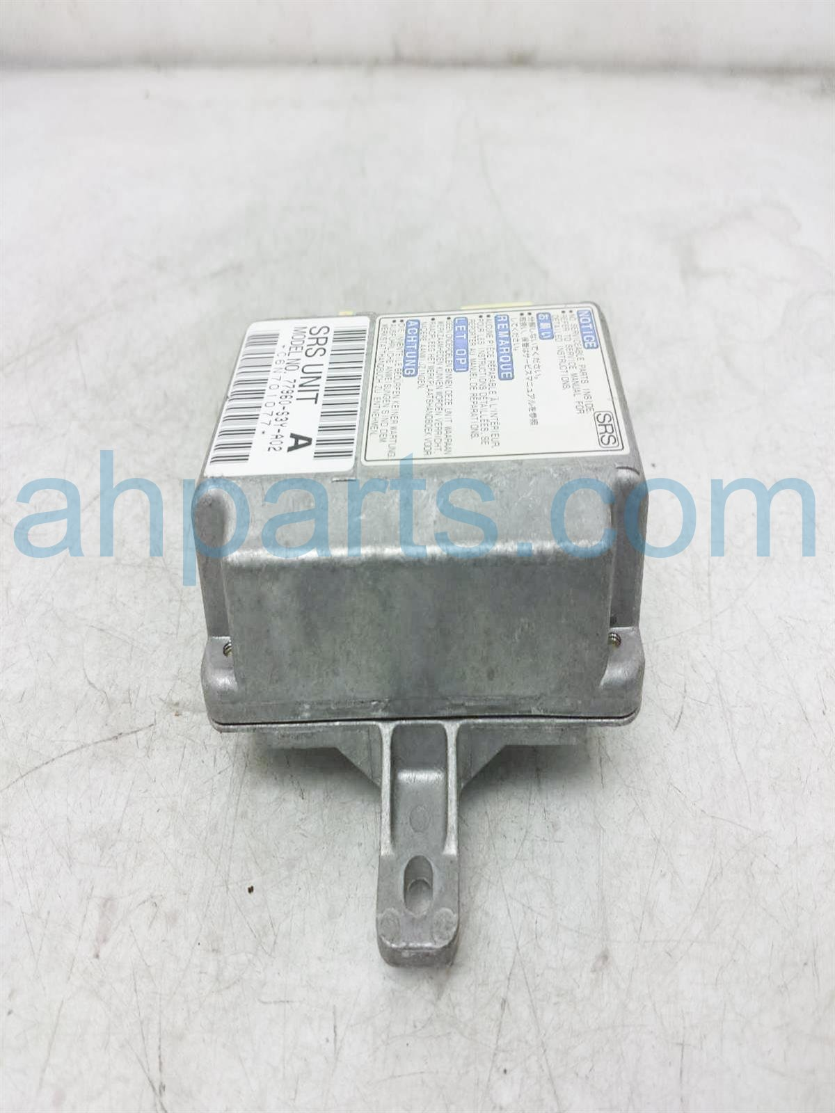 2003 Honda Insight Srs Air Bag Module 77960 S3Y A01 Replacement