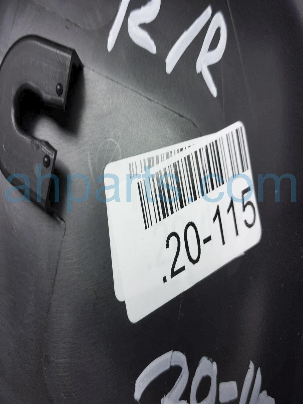 2019 Honda Passport Trim / Liner Rear Passenger Interior Door Panel   Black 83701 TGS A61ZA Replacement