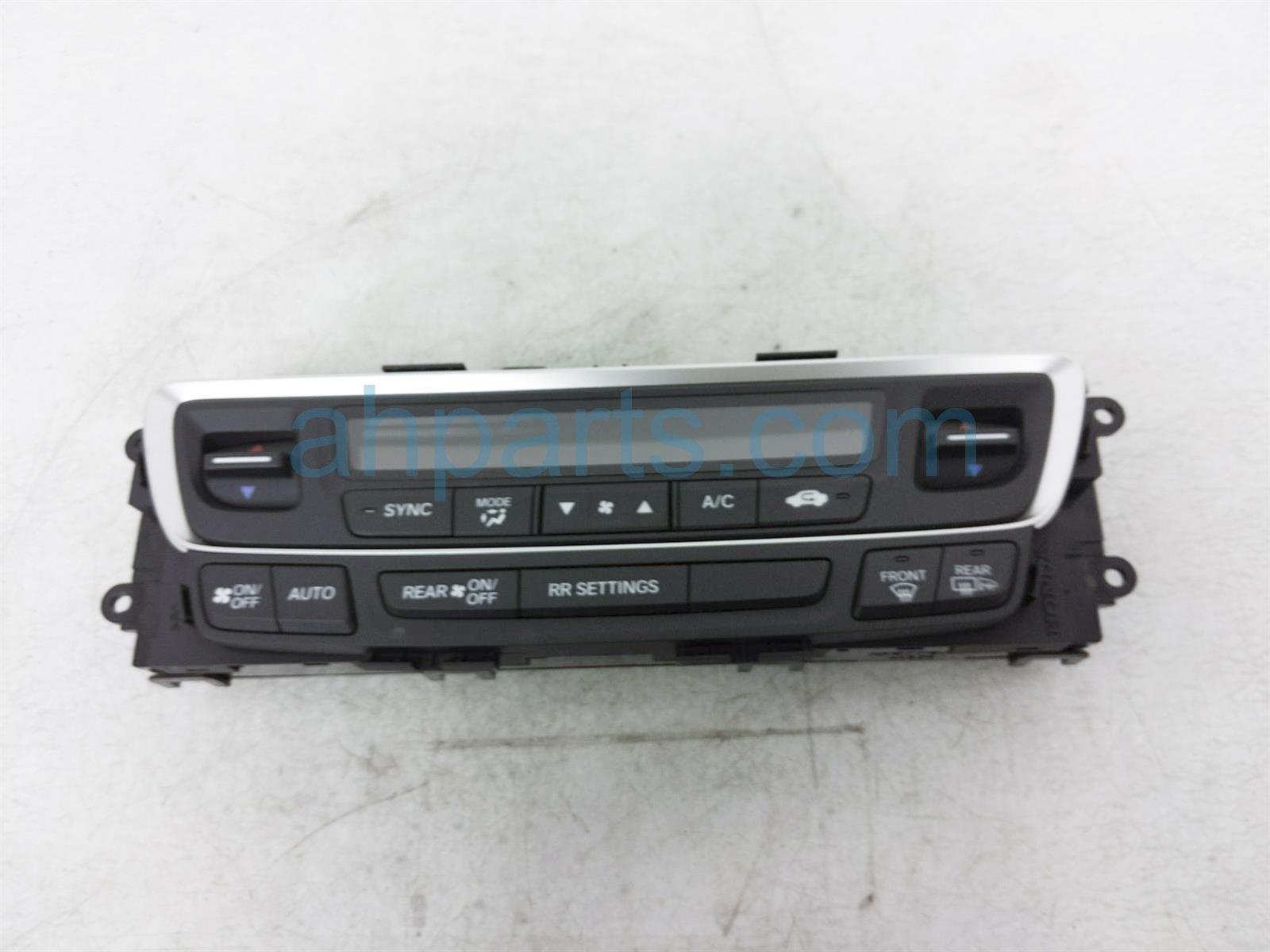 2019 Honda Passport Temperature Climate Heater/ac Control(on Dash) 79600 TGS A51ZA Replacement