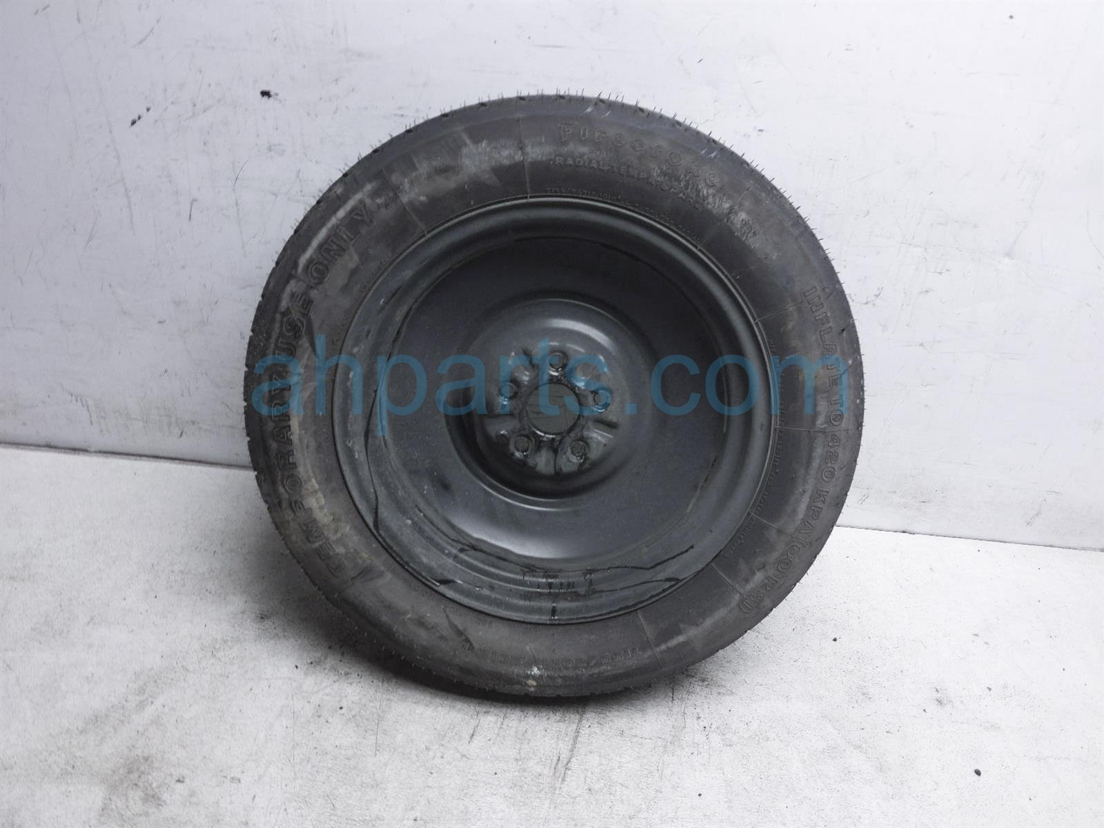 2013 Toyota Sienna Rim Firestone 155 80 17 Spare Wheel 42611 08111 Replacement
