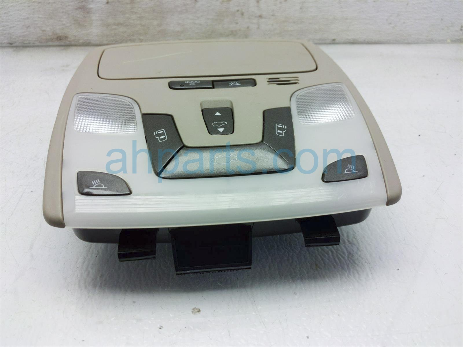 2013 Toyota Sienna Map Light / Overhead Console   Tan 63650 08460 Replacement