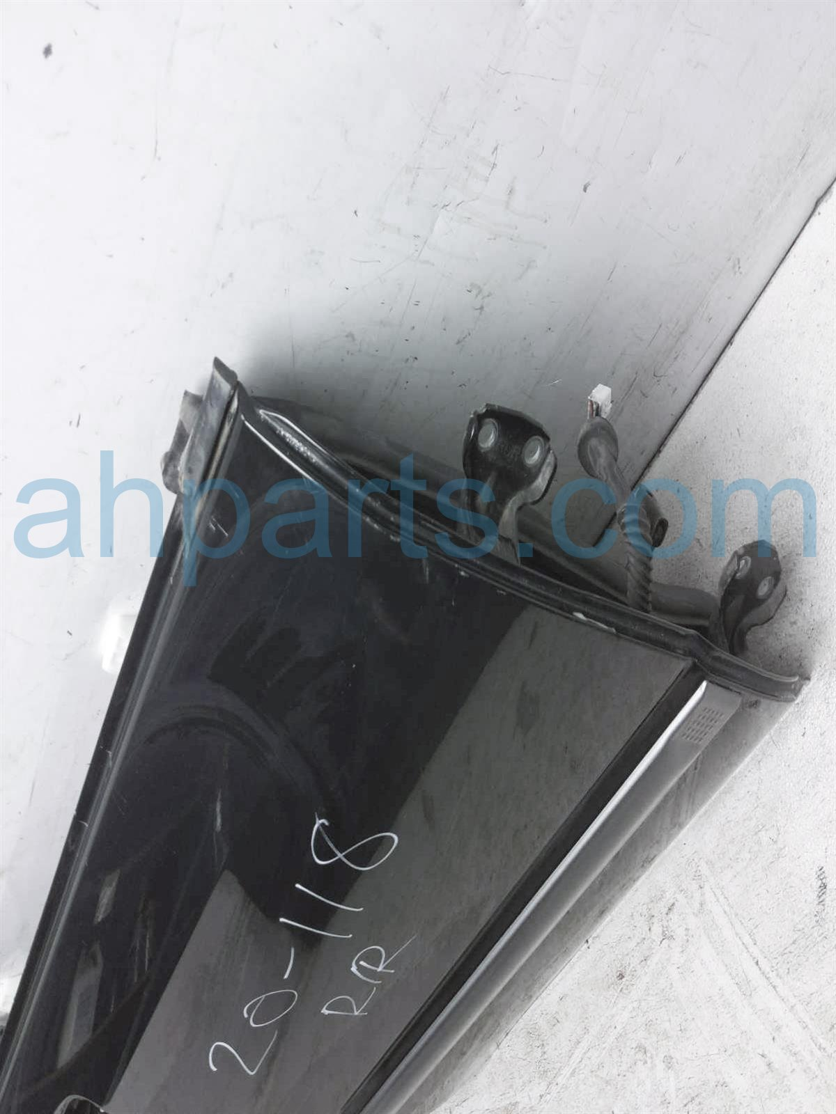 2007 Subaru Impreza Rear Passenger Door   Black   Shell Only 60409FE023 Replacement