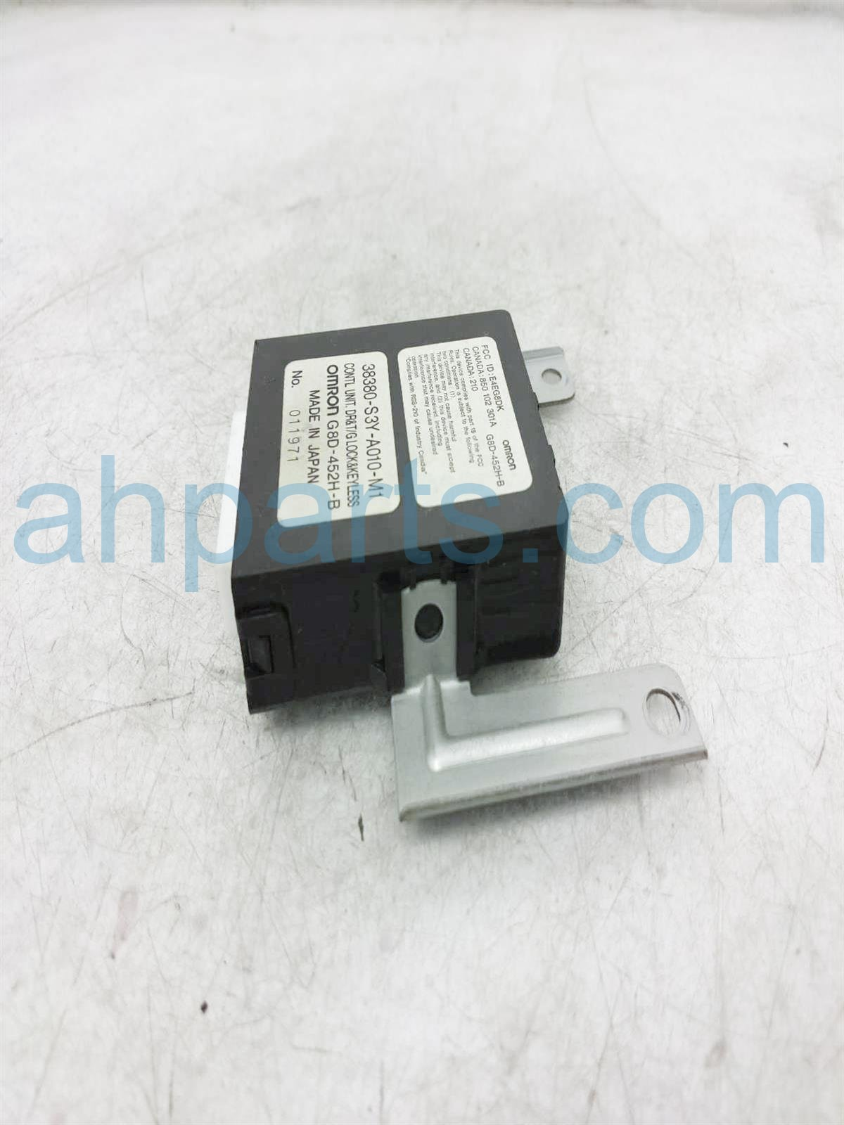 2003 Honda Insight Keyless Entry Control Unit 38380 S3Y A01 Replacement