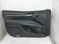 $175 Toyota FR/L DOOR PANEL BLACK NO SWITCH
