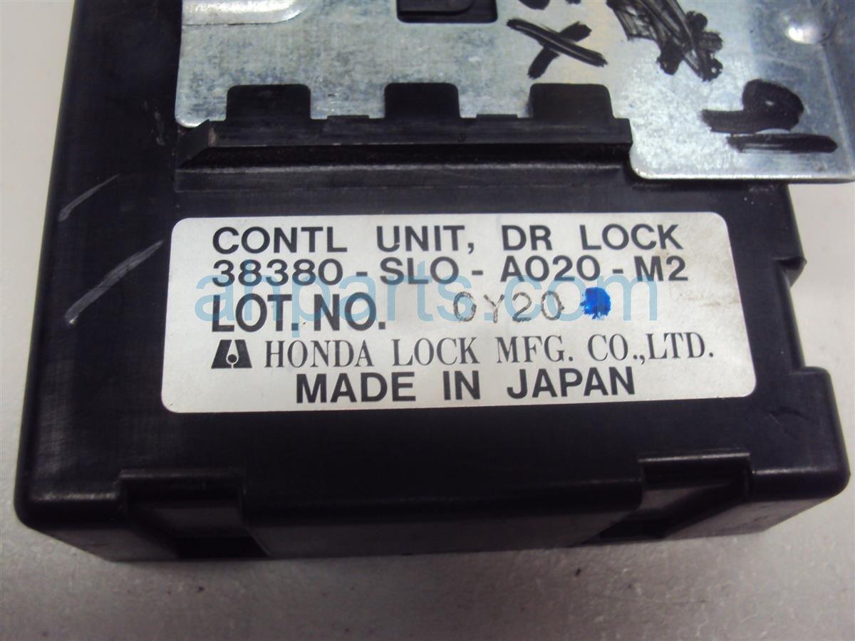 1991 Acura NSX DR LOCK CNTRL UNIT 38380 SLO A020 M2 38380SLOA020M2 Replacement