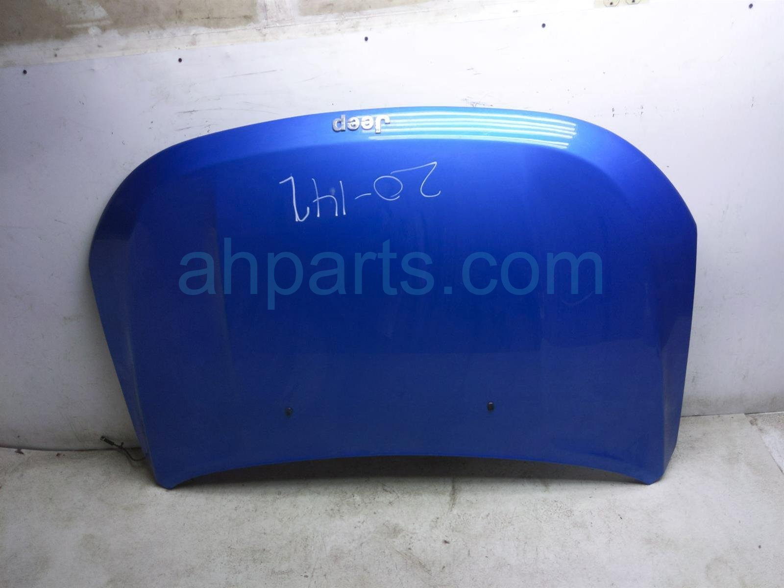 2018 Jeep Compass Hood   Blue 68243955AB Replacement