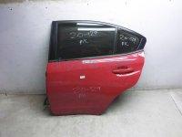 Subaru RR/LH DOOR - RED - NO INSIDE TRIM -