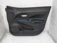 $100 Nissan FR/RH INTERIOR DOOR PANEL - BLACK