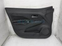 $100 Nissan FR/LH INTERIOR DOOR PANEL - BLACK -