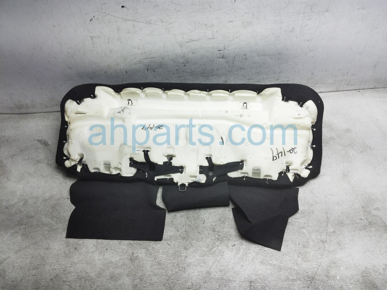 2020 Nissan Versa Back (2nd Row) Rear Seat Bottom Cushion   Black Clt 88300 9KF1D Replacement