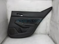 $125 Nissan RR/RH INTERIOR DOOR PANEL - BLACK