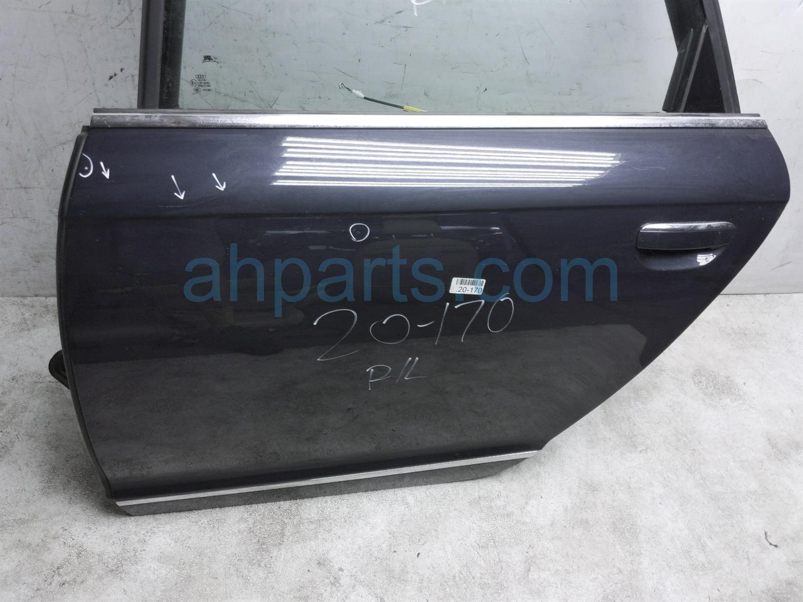 2011 Audi A6 Audi Rear Driver Door   Blue   No Inside Trim 4F0 833 051 G Replacement