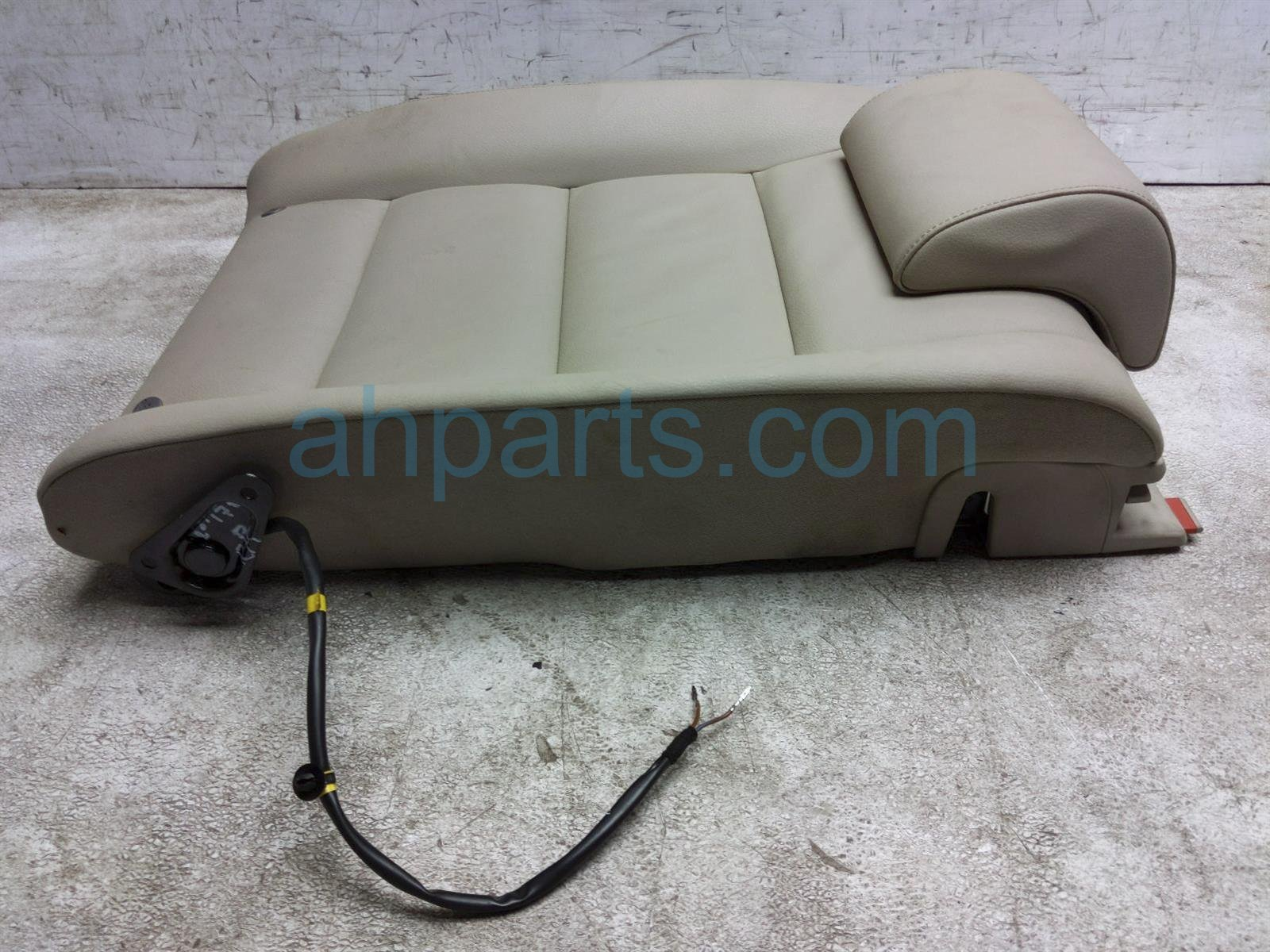 2011 Audi A6 Audi Back Seat (2nd Row) Rear Driver Upper Cushion   Tan Leather 4F0 885 805 AQ VTS Replacement