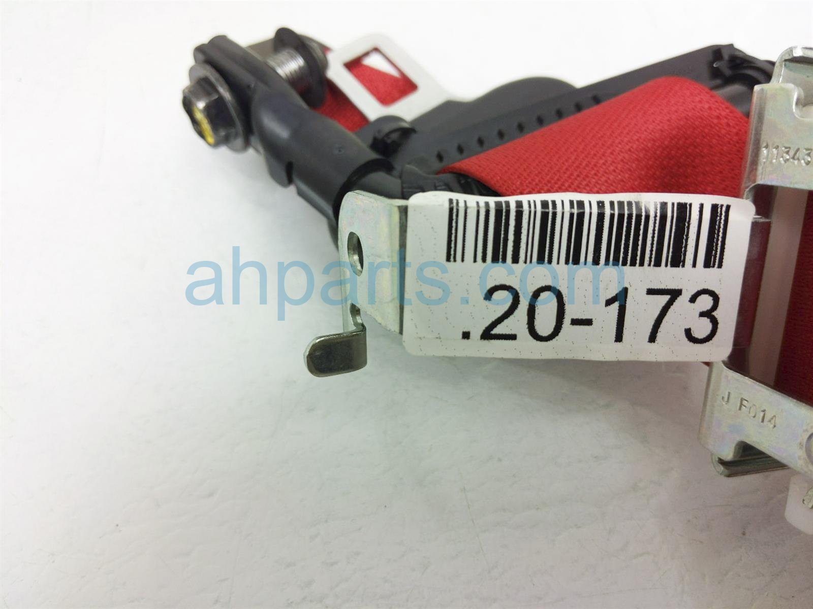2018 Honda Civic Rear Passenger Seat Belt Type R Red 04824 TGH A00ZA Replacement