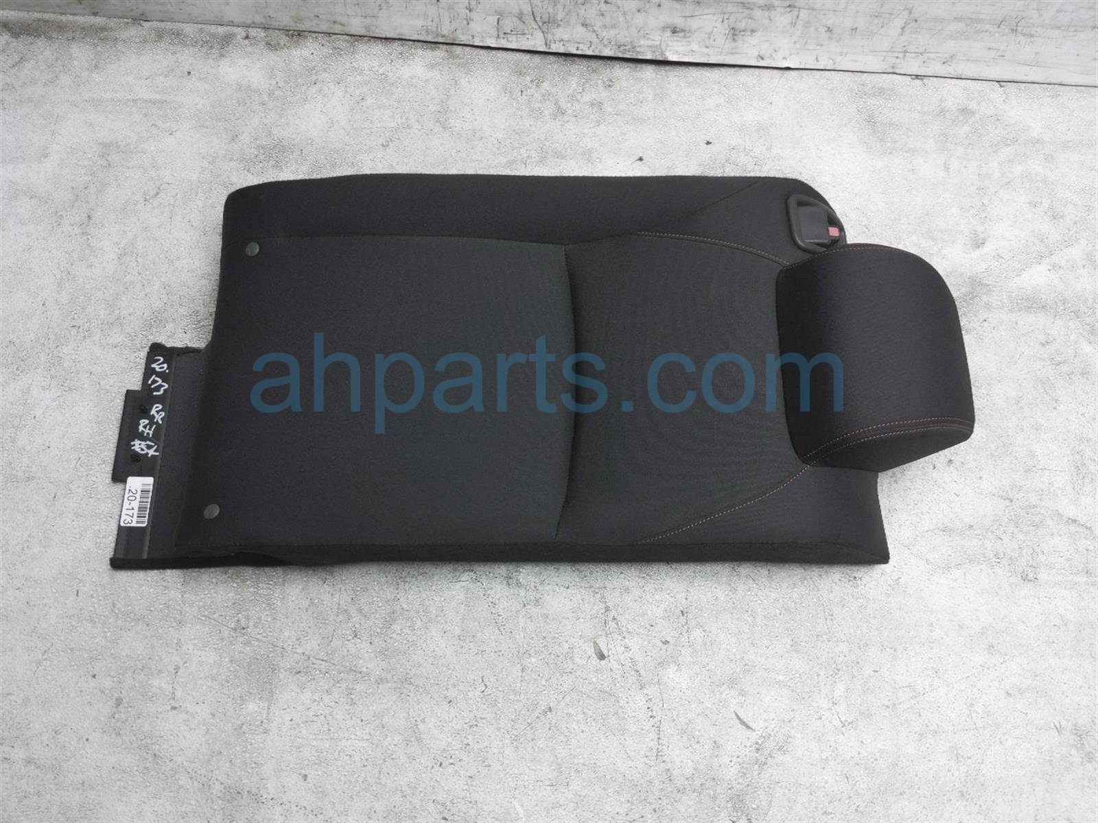 2018 Honda Civic Back (2nd Row) Rear Seat Top Portion Type R Check 82121 TGH A01ZB Replacement