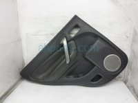 $75 Toyota RR/LH INTERIOR DOOR PANEL - BLACK