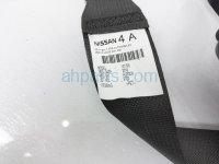 $75 Nissan RR/LH  2ND ROW SEATBELT