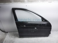 $275 Honda FR/RH DOOR - BLACK - SHELL ONLY