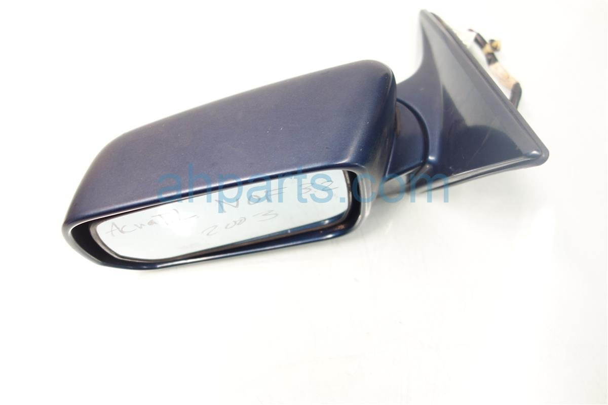 2002 Acura TL Rear View Driver OUTSIDE MIRROR BLUE NP 76250 S0K A21 76250S0KA21 Replacement