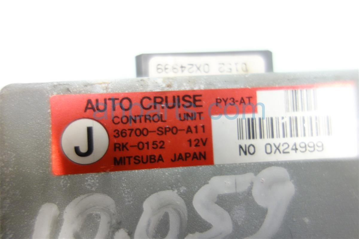 1991 Acura Legend CRUISE CONTROL COMPUTER 36700 SP0 A11 36700SP0A11 Replacement