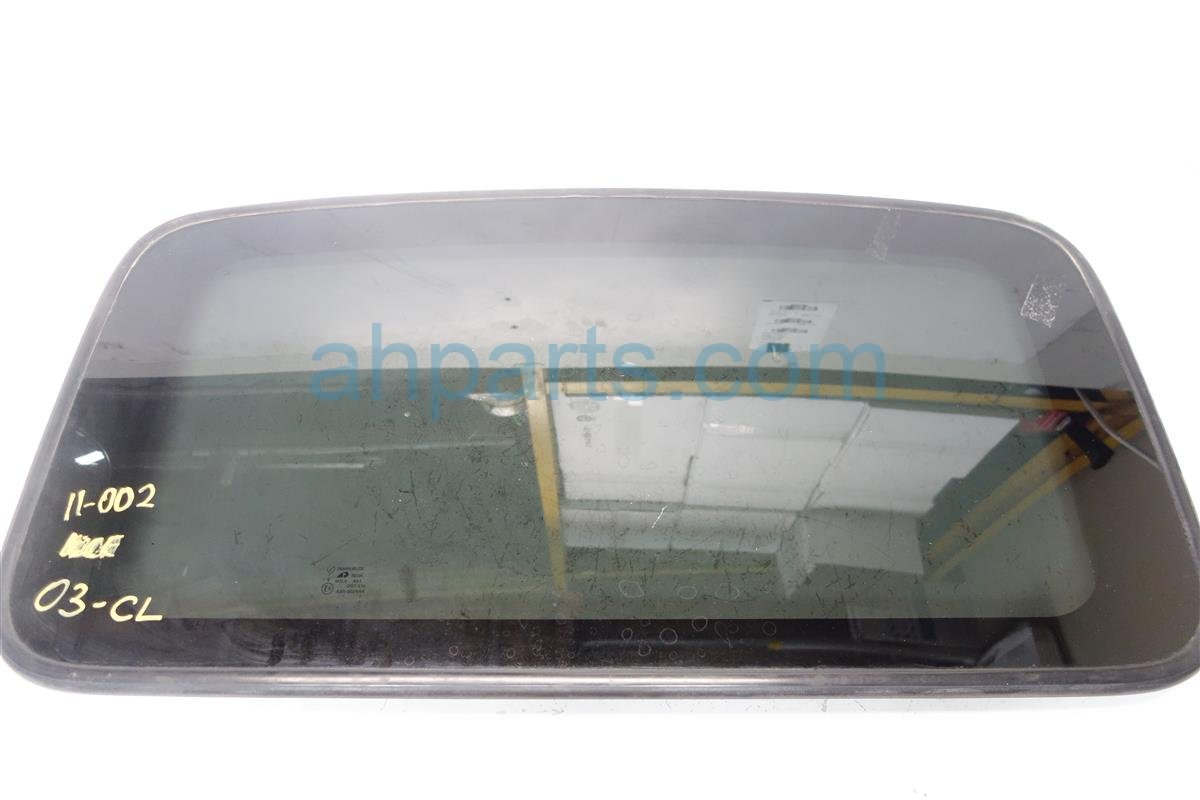 2001 Acura CL Sunroof window ROOF GLASS 70200 S3M A02 70200S3MA02 Replacement