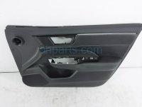 $169 Honda FR/RH INTERIOR DOOR PANEL - BLACK