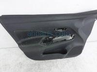 $100 Nissan FR/LH INTERIOR DOOR PANEL - BLACK*