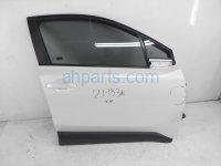 $825 Toyota FR/RH DOOR - WHITE - NO MIRROR/TRI