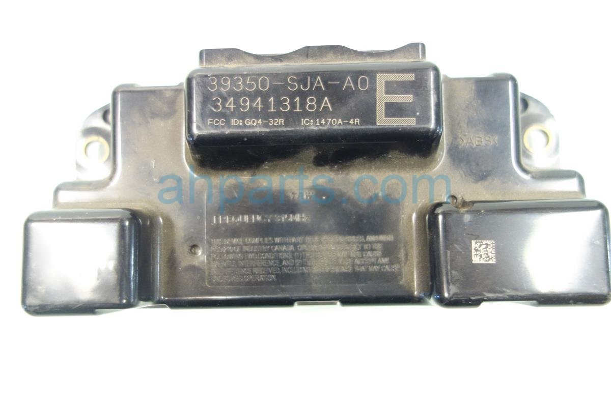 2005 Acura RL RECEIVER UNIT TPMS 39350 SJA A01 39350SJAA01 Replacement