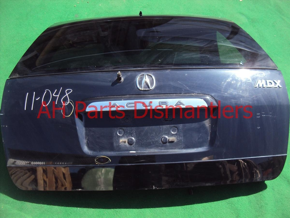 2002 Acura MDX Deck Trunk Lid TAIL GATE COMPLETE BLK 4DINGS 68100 S3V A91ZZ 68100S3VA91ZZ Replacement