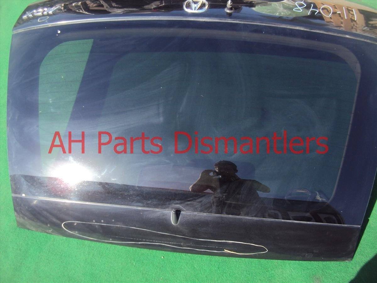 2002 Acura MDX Deck / Trunk Lid Tail Gate,complete,blk 4dings 68100 S3V A91ZZ Replacement