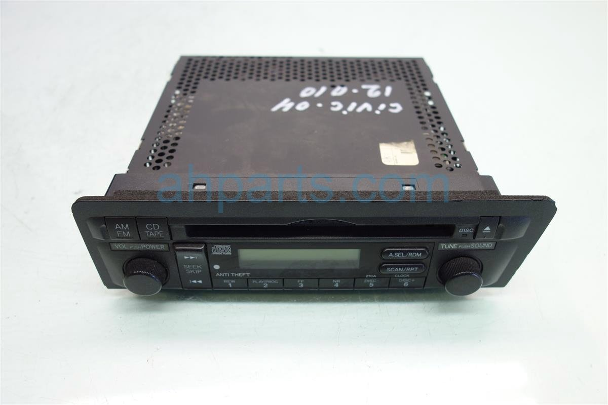 2004 Honda Civic Am Fm Cd Player Replacement